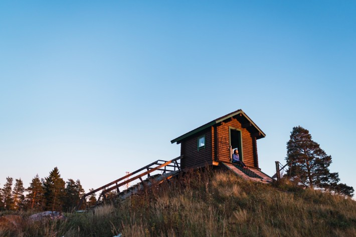 swinghill, ski, bicycle, Nuuksio National Park