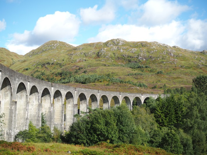 glenfinnan viaduct, scotland itinerary
