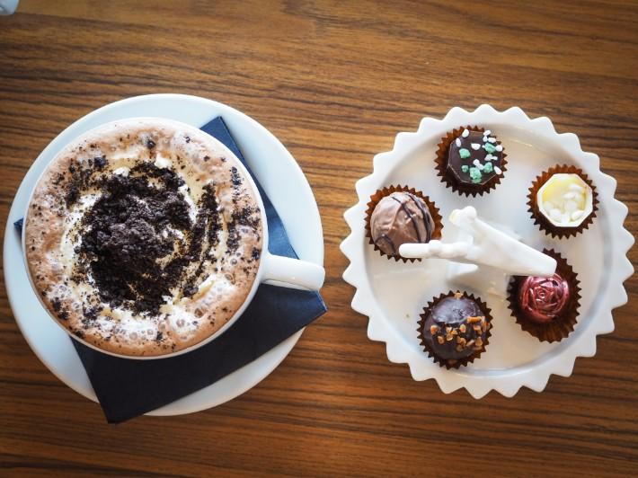 hot chocolate, oban chocolate company, oban, scotland itinerary