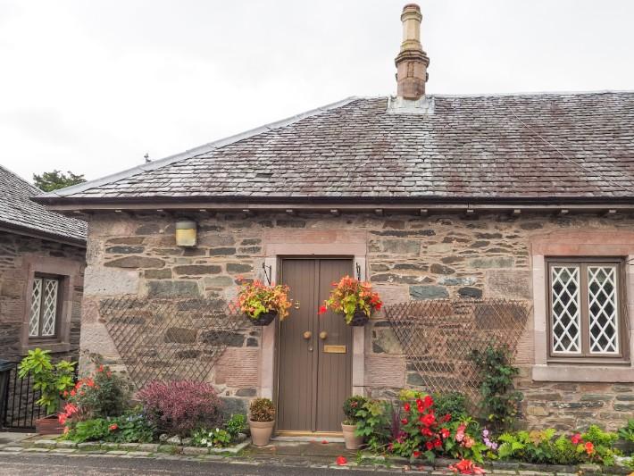 houses streets, Loch lomond, scotland itinerary