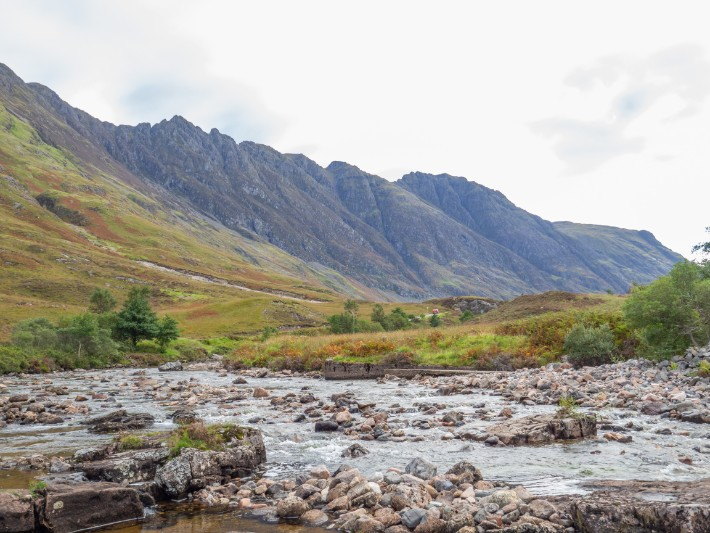 mountain view, glencoe, scotland itinerary