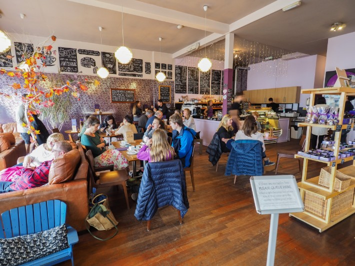 oban chocolate company cafe, oban, scotland itinerary