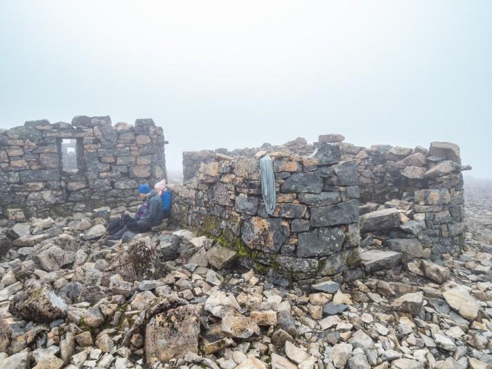 peak summit top ben nevis, scotland