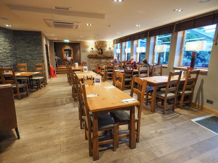 restaurant, the inn on Loch lomond, scotland itinerary
