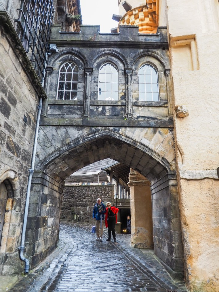 stirling castle, scotland itinerary