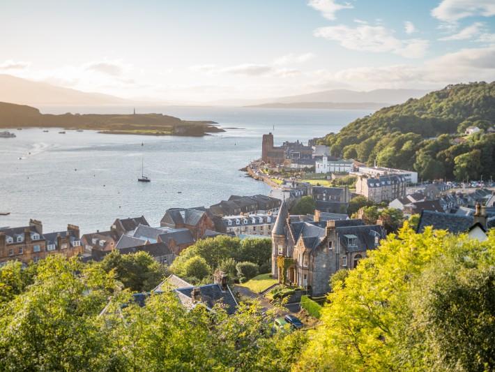 viewpoint, mc caig's tower, oban, scotland itinerary
