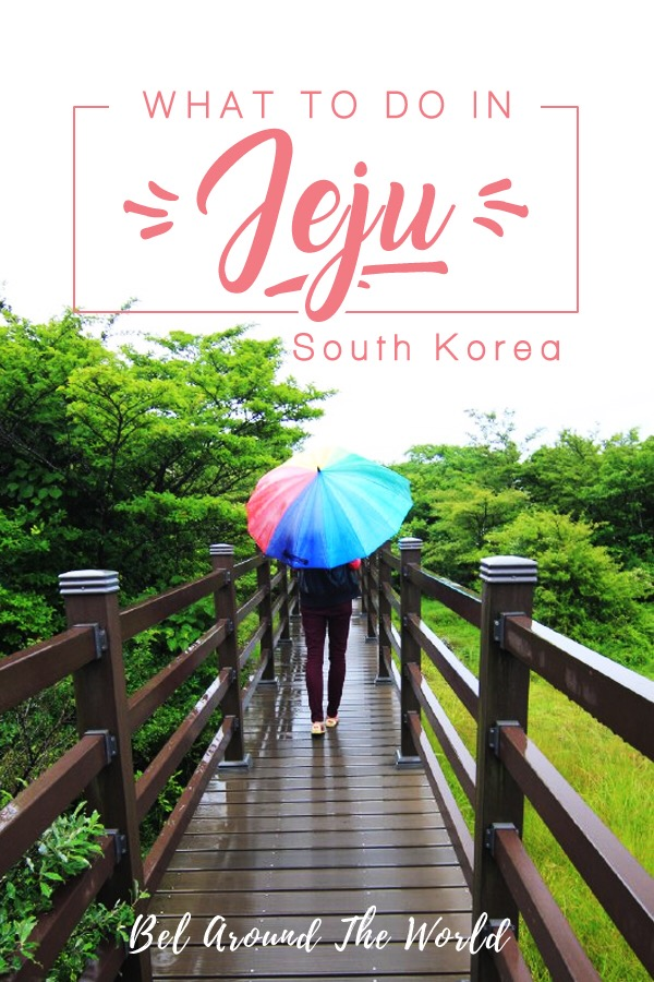 Learn all about the things to do in jeju island, the island's main attractions and driving in jeju! #Jeju #SouthKorea