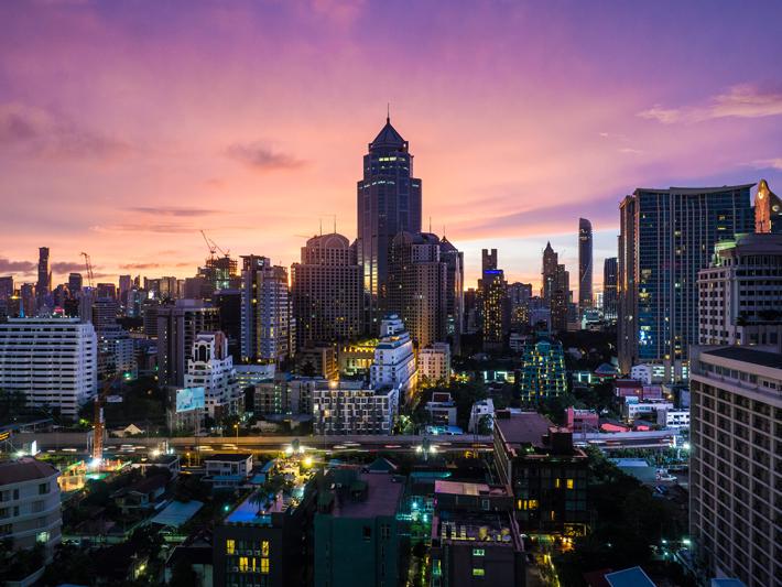 Novotel Bangkok Sukhumvit view, Day trips from Bangkok -Amphawa Floating Market, Maeklong Railway Market, Ban Bang Phlap