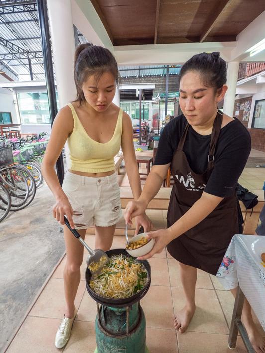 local thai food cook, Day trips from Bangkok -Amphawa Floating Market, Maeklong Railway Market, Ban Bang Phlap