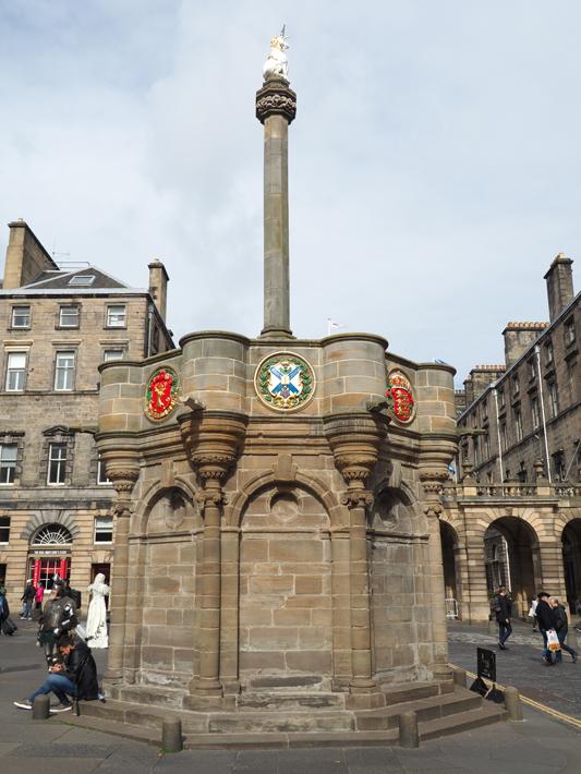 mercat-cross, edinburgh ghost tours old town, scotland