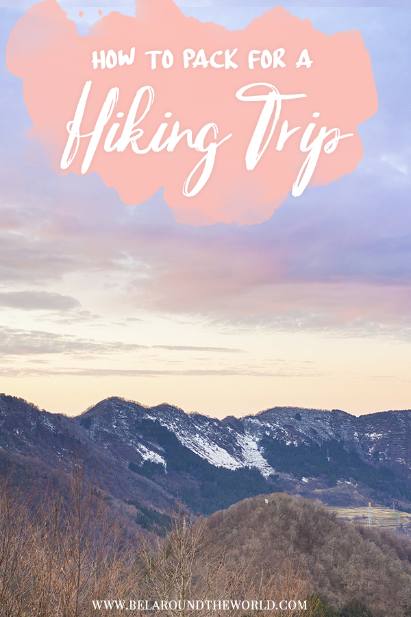 How to #pack for #hiking trip - all about layering, type of material, shoes for the right terrain and more! Be enlightened by this post.