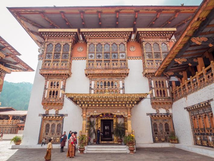 Punakha Dzong temple, Bhutan