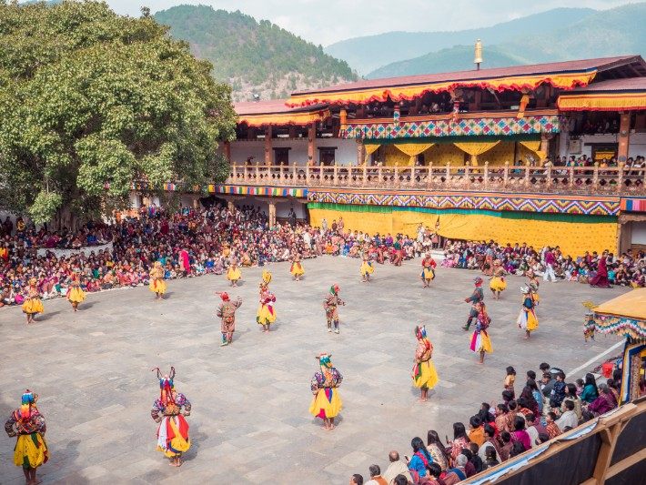 Punakha Tshechu in Bhutan – Slaying Demons & Evil Through a Dance?