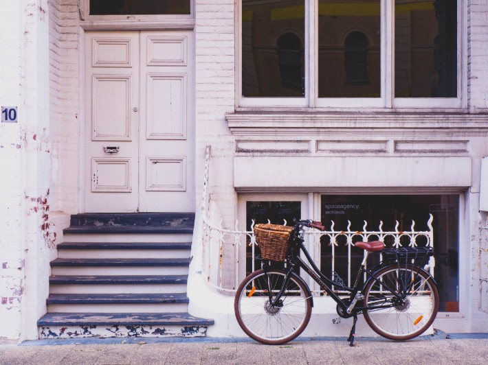bicycle, house, doorstep, Perth Accommodation, Fremantle Accommodation, australia