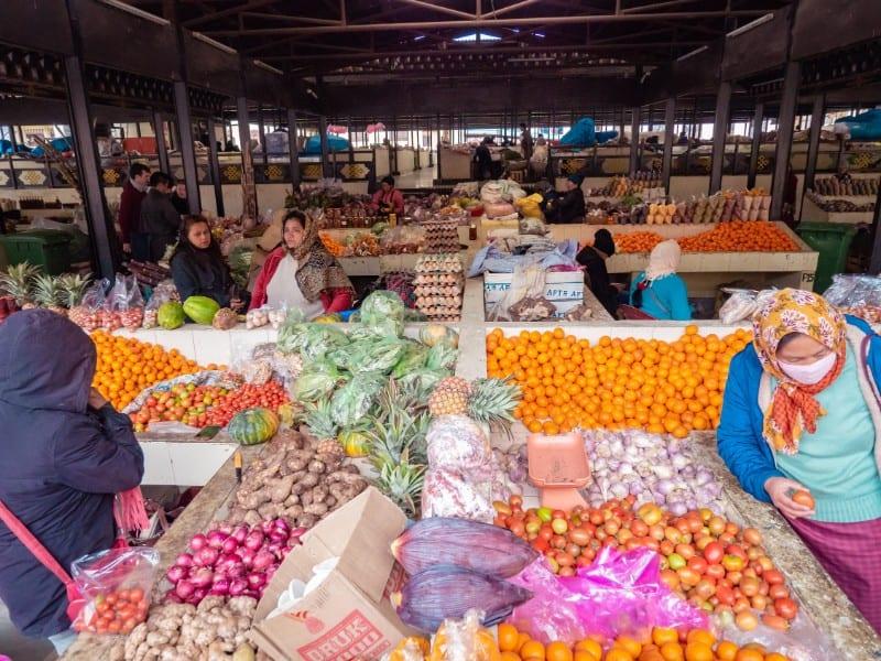 fruits, Centenary Farmers' Market, bhutan
