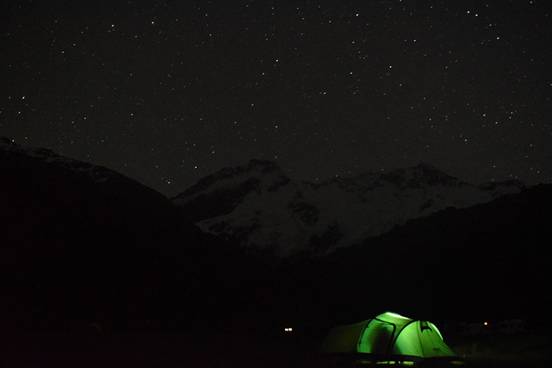 Mount Cook Aoraki New Zealand stars max, Astrophotography for beginners