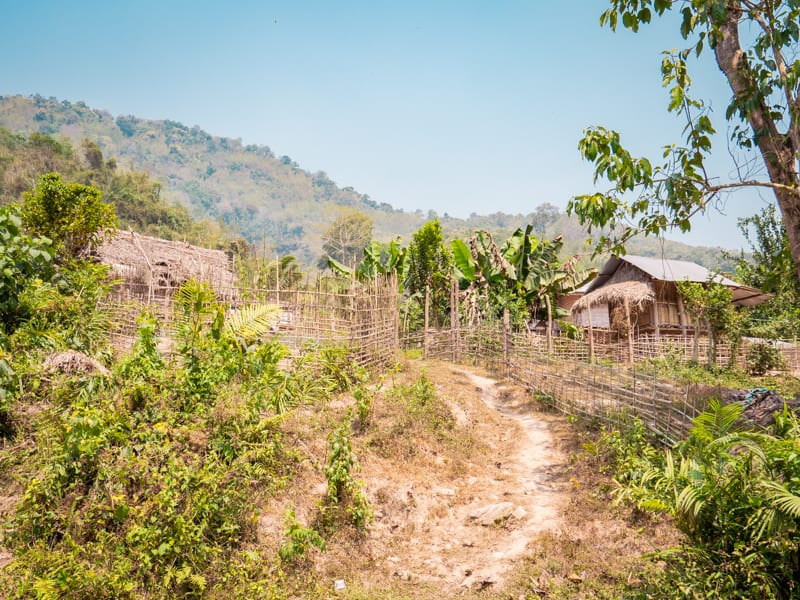 Living Primitively in Luang Namtha, Laos