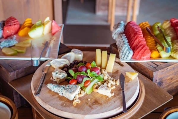 cheese platter, Telunas Private Island Batam Indonesia, Hotel Review