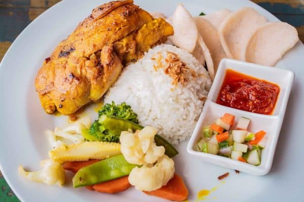 food, Telunas Private Island Batam Indonesia, Hotel Review