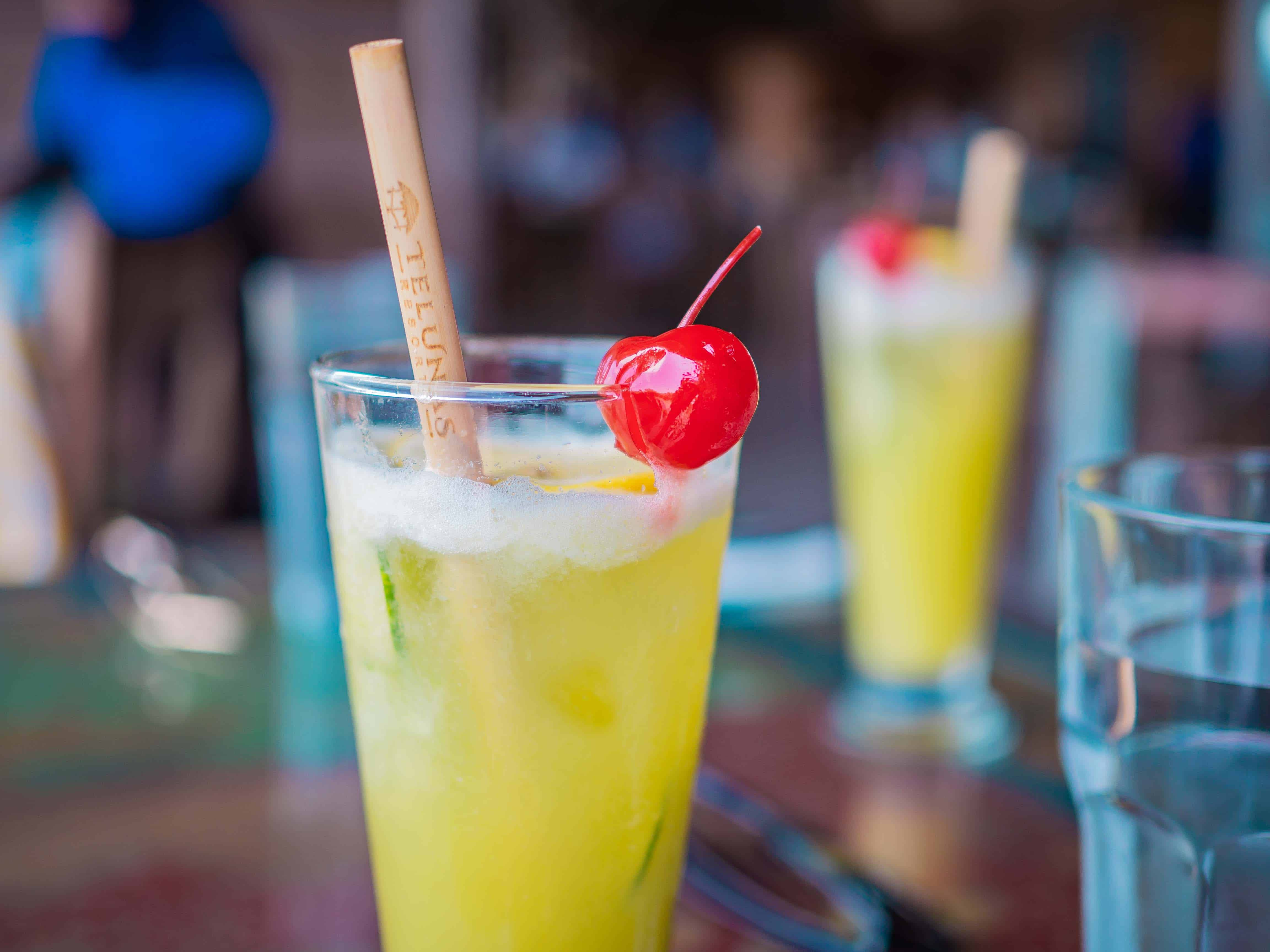 drink, Telunas Private Island Batam Indonesia, Hotel Review