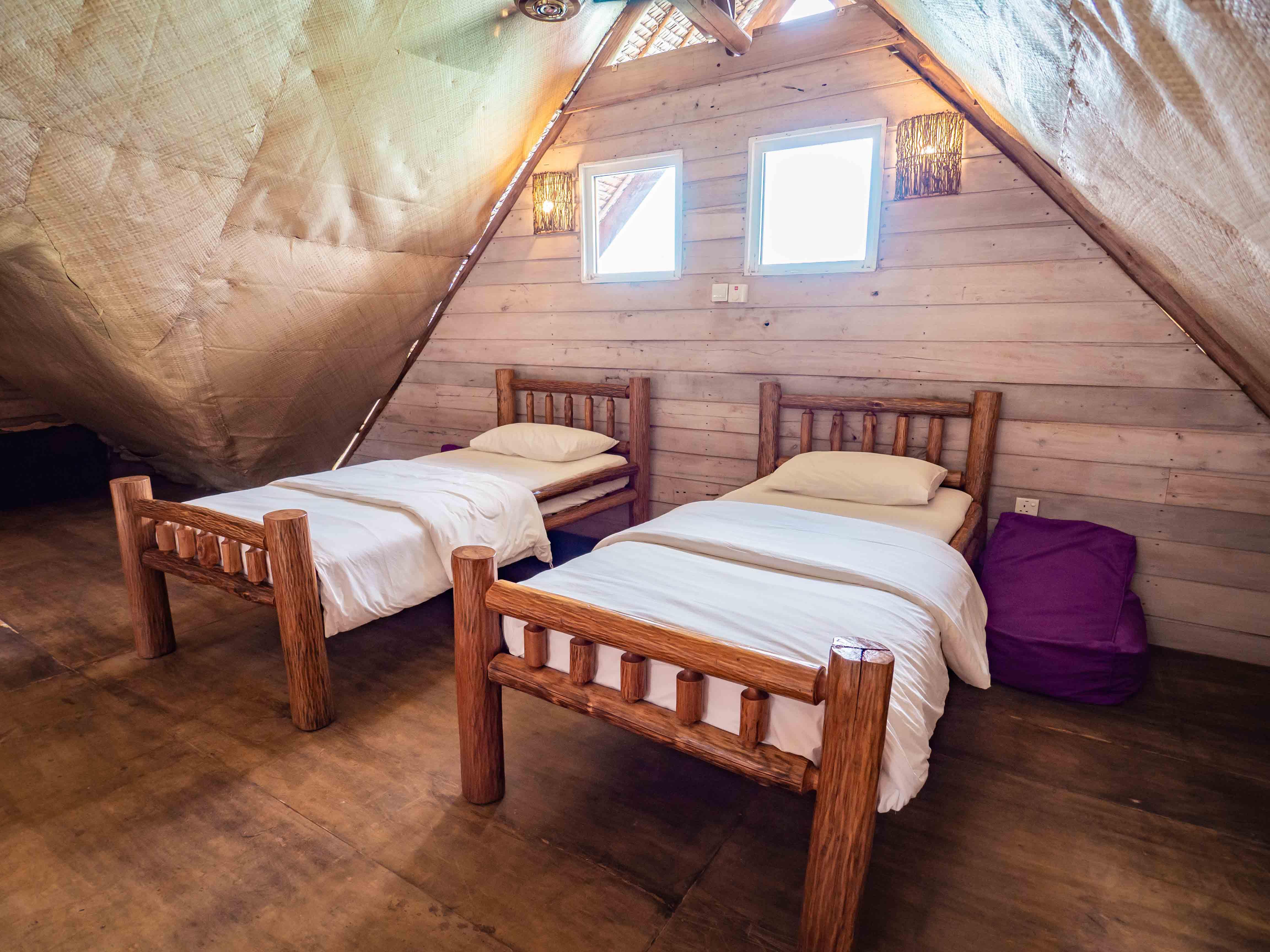 villa room, Telunas Private Island Batam Indonesia, Hotel Review