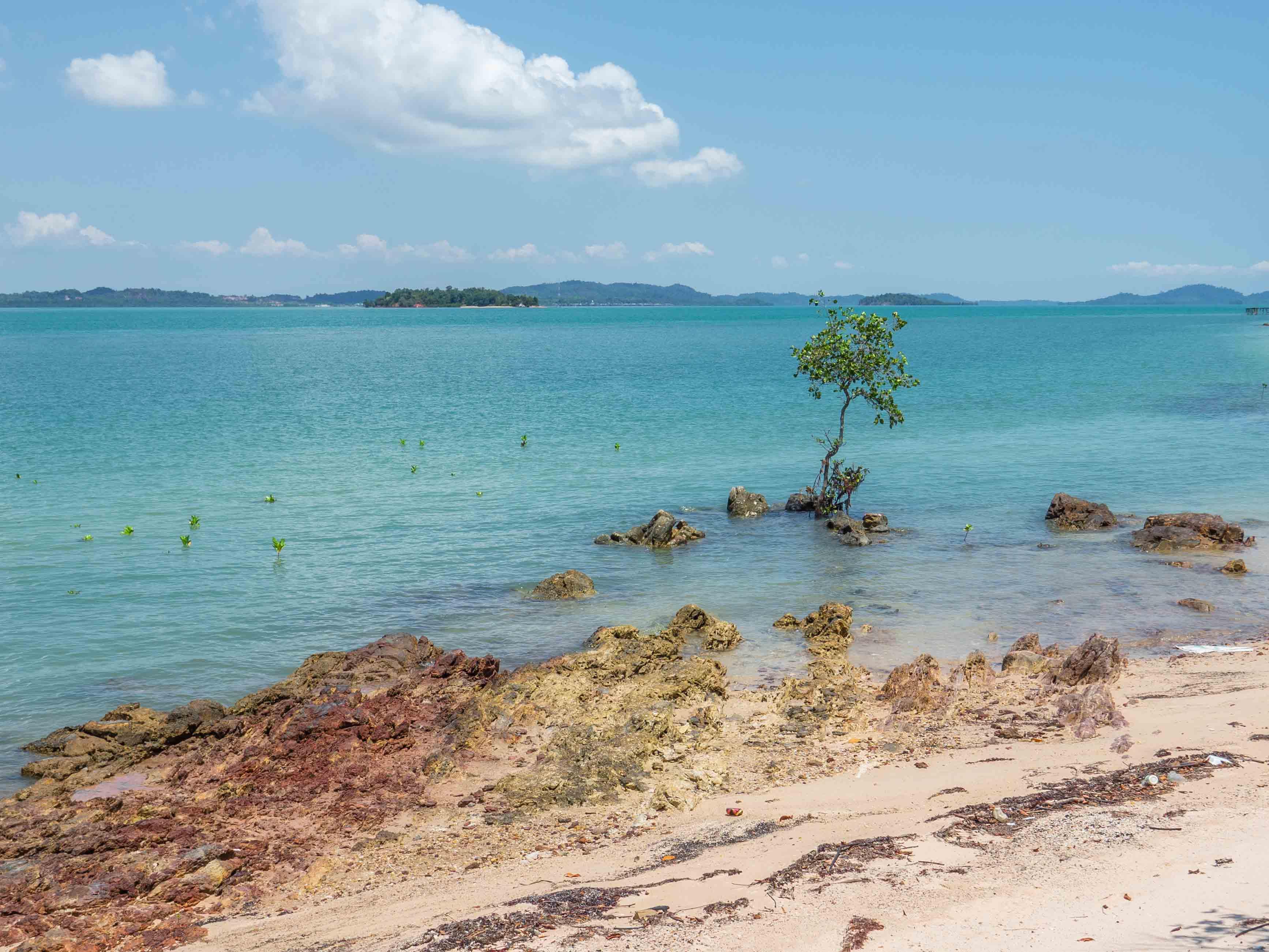 beach, Telunas Private Island Batam Indonesia, Hotel Review