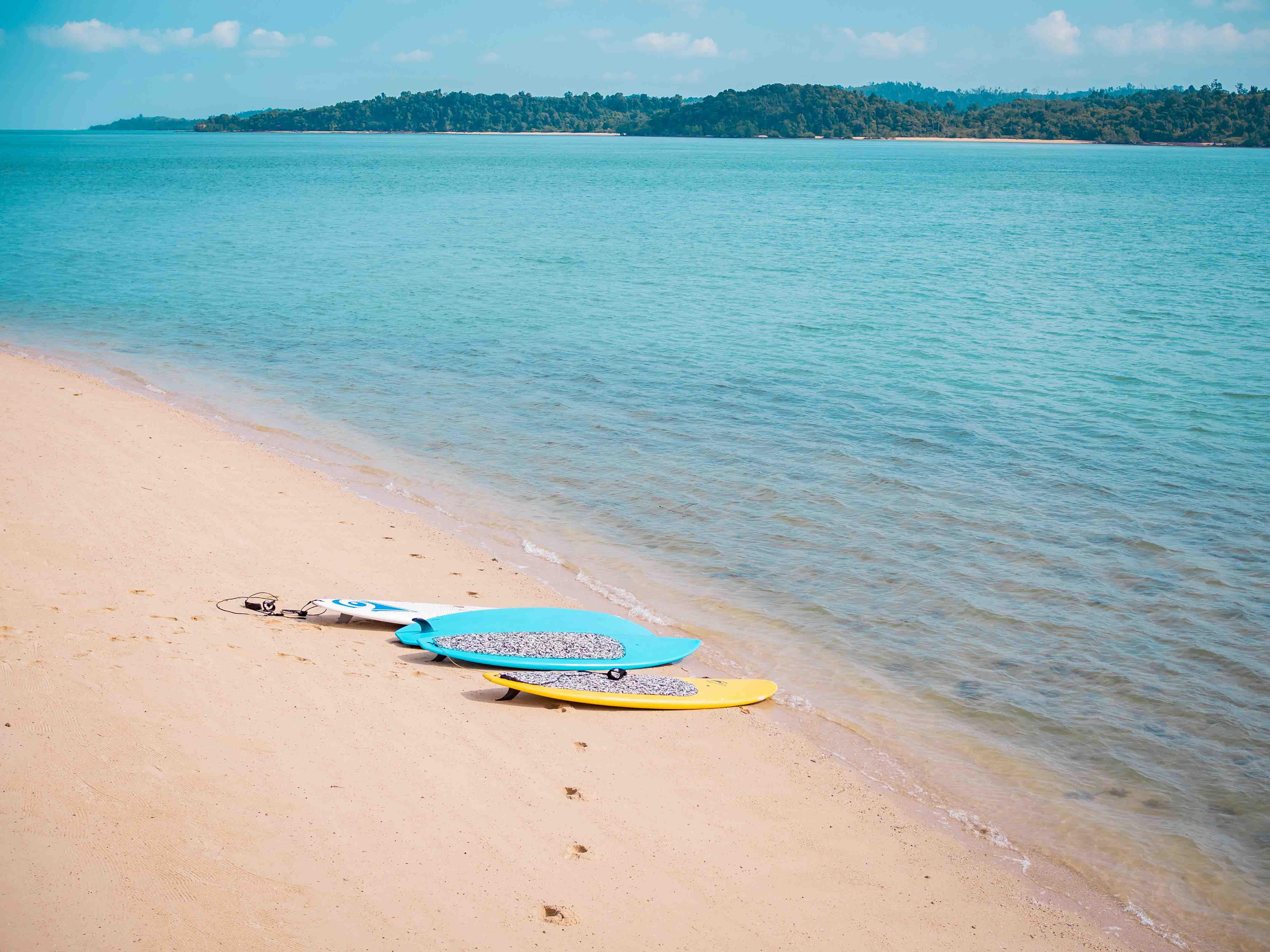 sea activities, Telunas Private Island Batam Indonesia, Hotel Review