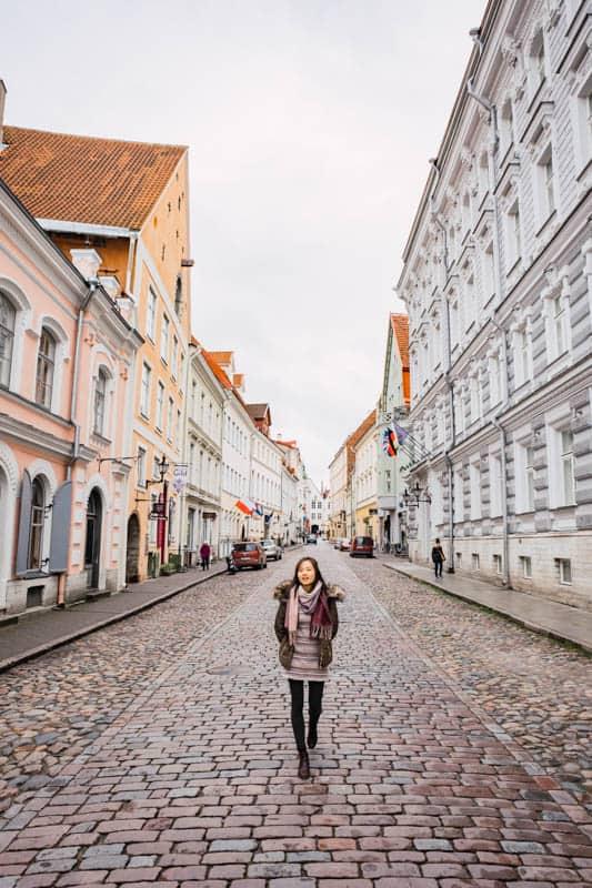 girl street walk, Things to do in Tallinn, Estonia
