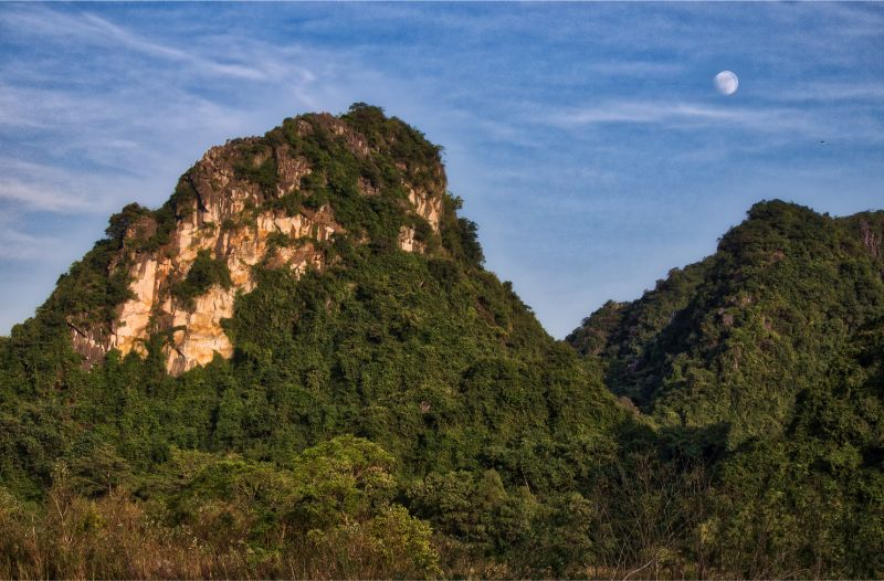 moon landscape how to create HDR photos Bel Around The World