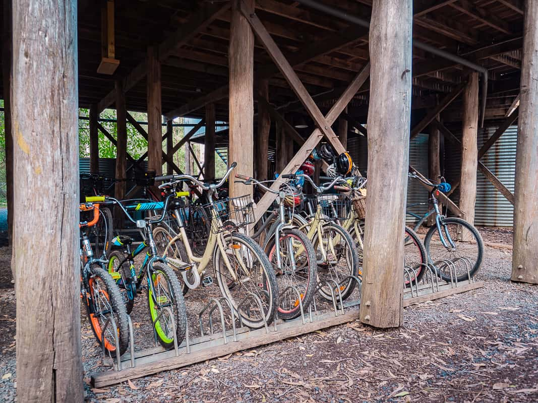 Paperbark-Camp-Jervis-Bay-Australia-Review-bicycles-rent