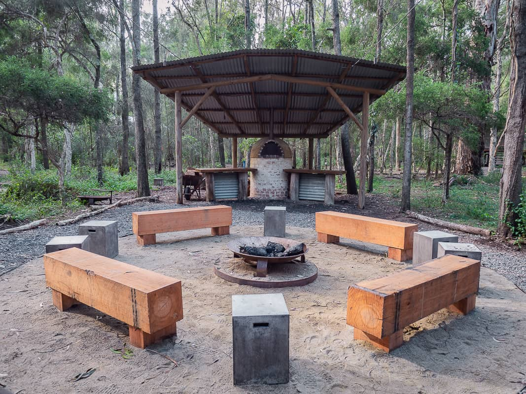Paperbark-Camp-Jervis-Bay-Australia-Review-campfire
