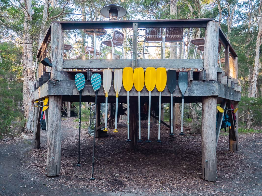 Paperbark-Camp-Jervis-Bay-Australia-Review-stand-up-paddlebo