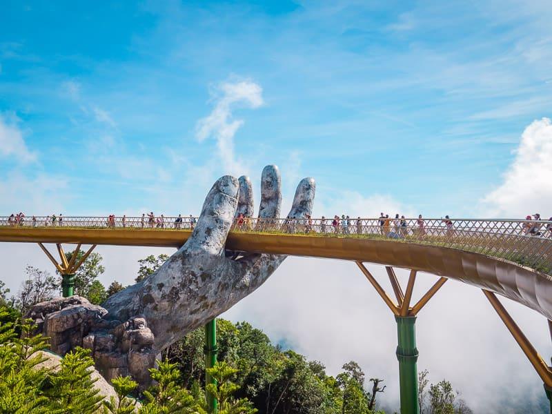 Golden Bridge, Things-to-do-in-Da-Nang-Vietnam