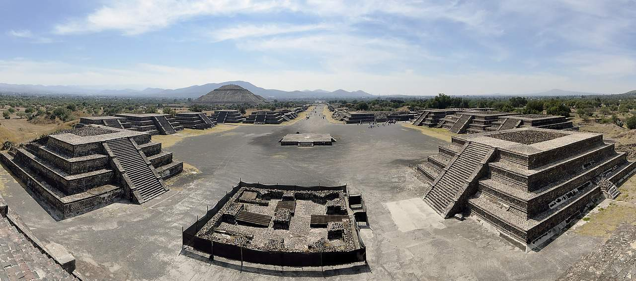central-america-Teotihuacan , UNESCO World Heritage Sites in Mexico