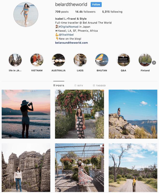 instagram belardtheworld Bel Around The World