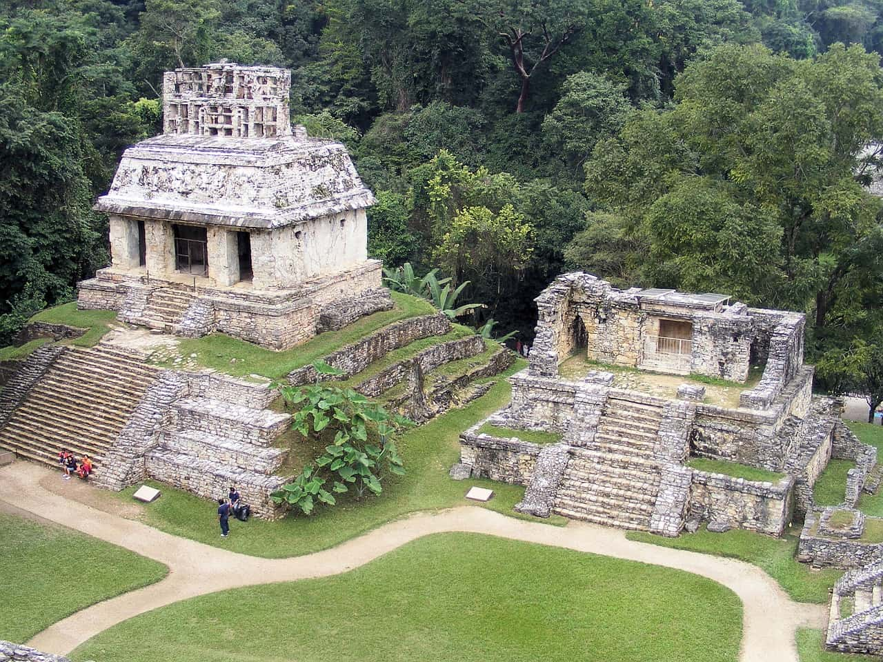 mexico-National Park of Palenque , UNESCO World Heritage Sites in Mexico