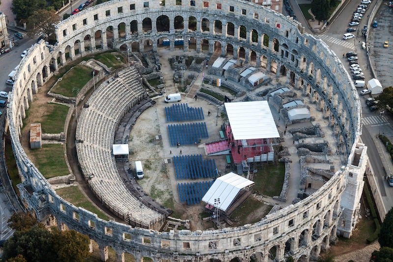 pula-amphitheatre, Things to Do in Croatia
