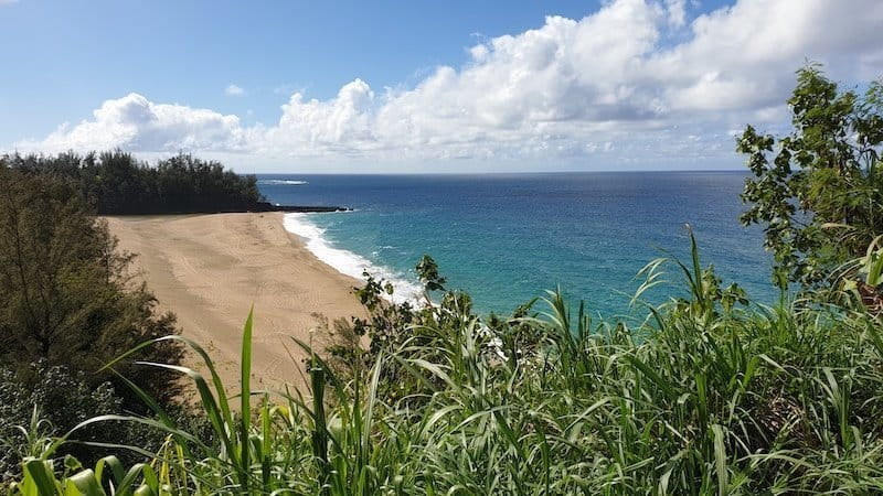Kahalahala beach: Lumahai beach, best beaches in kauai hawaii