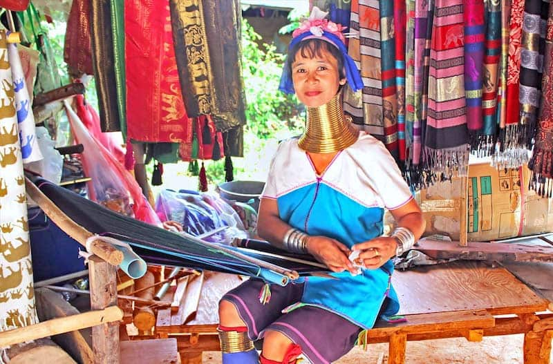 Karen Long Neck Tribe & Chiang Dao Cave, Travel Guide to Chiang Mai, Thailand