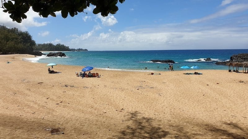 Lumahai beach, best beaches in kauai