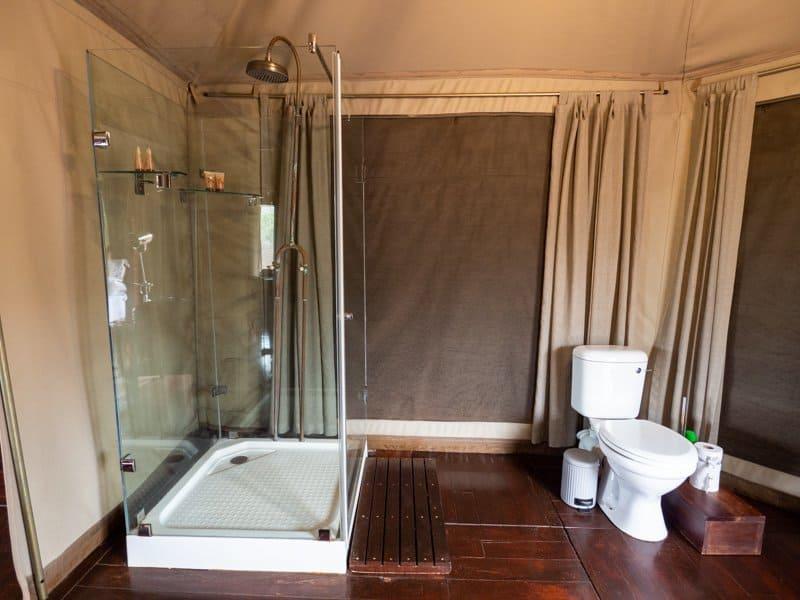 tent lodge bathroom, Thanda-Safari-South-Africa