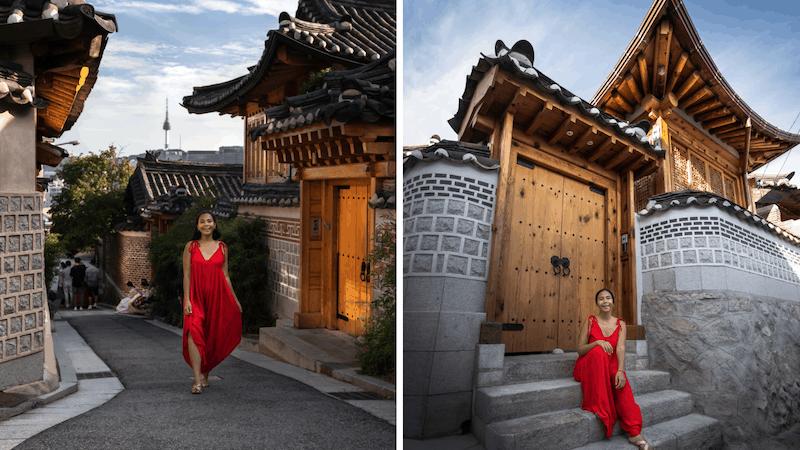 korean culture, things to do Bukchon Hanok Village, seoul korea