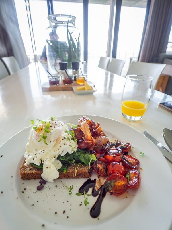 breakfast, Cape View Clifton, Cape Town, South Africa - Hotel Review
