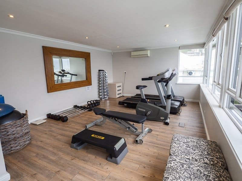 gym, Cape View Clifton, Cape Town, South Africa - Hotel Review