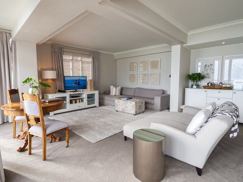 living room, Cape View Clifton, Cape Town, South Africa - Hotel Review