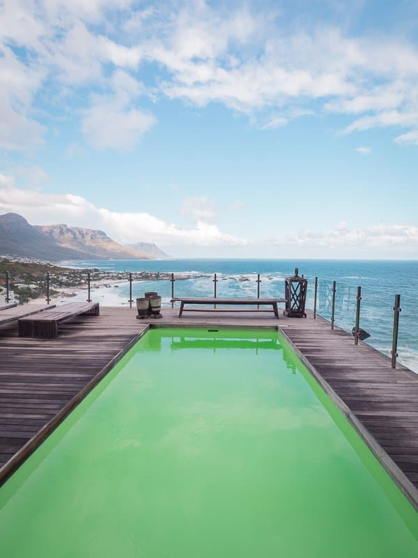 swimming pool, Cape View Clifton, Cape Town, South Africa - Hotel Review