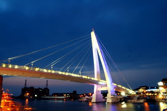 Lover's Bridge, 5-day taiwan itinerary
