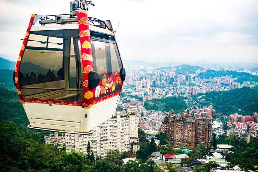 Maokong_Gondola_Tea_House_Taipei_Taiwan_5-day taiwan itinerary