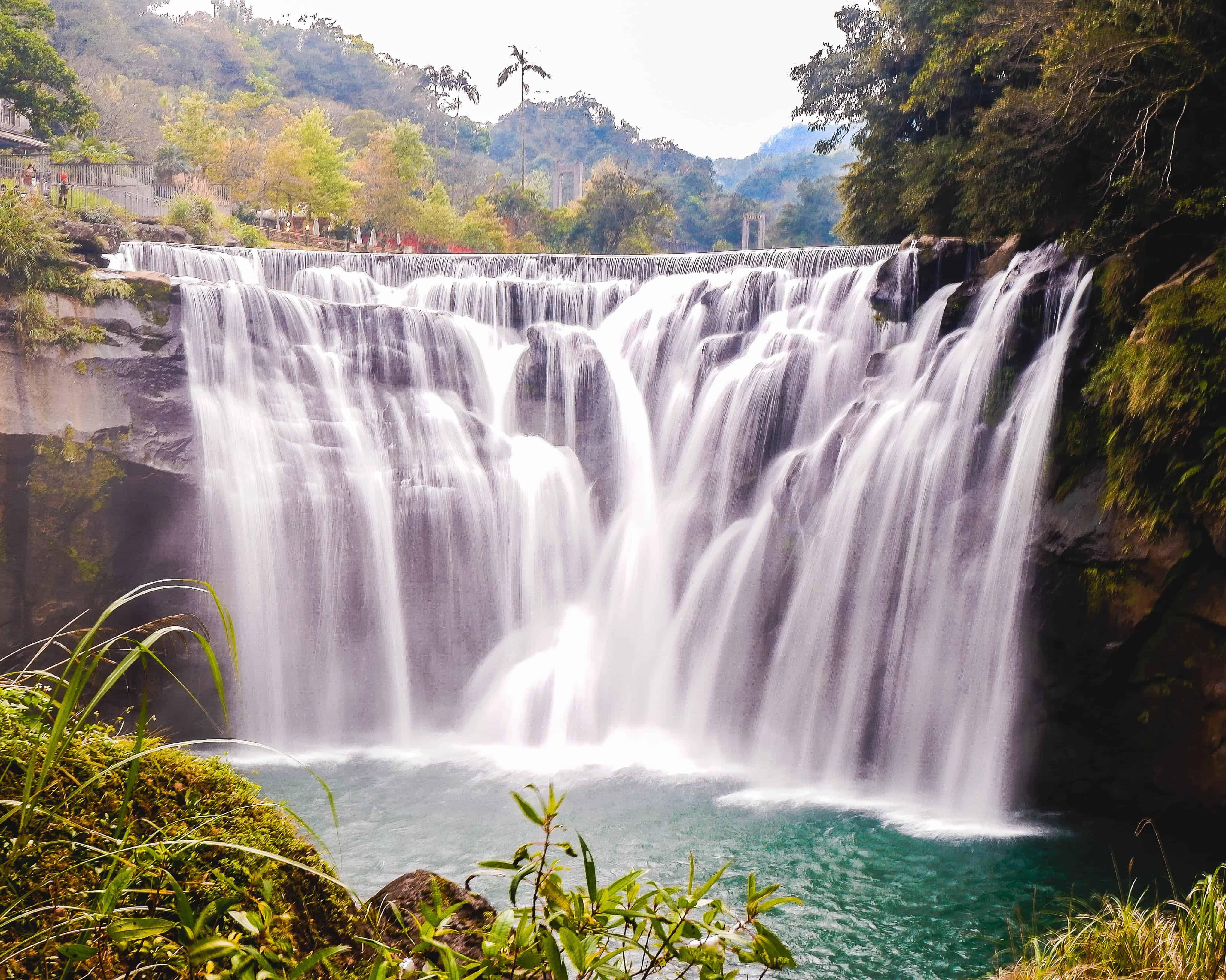 shifen_waterfall_5-day taiwan itinerary