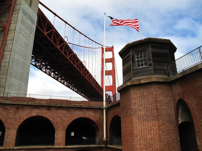 Fort Point National Historic Site, cool things to do in san francisco